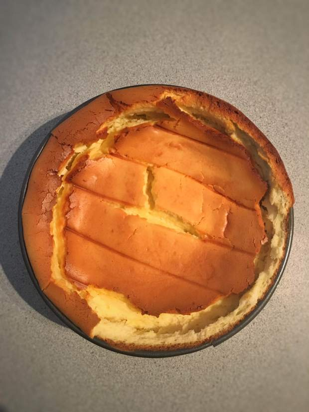 Cheesecake Cooked