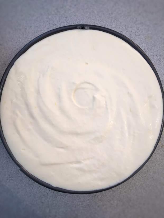 Cheesecake Uncooked