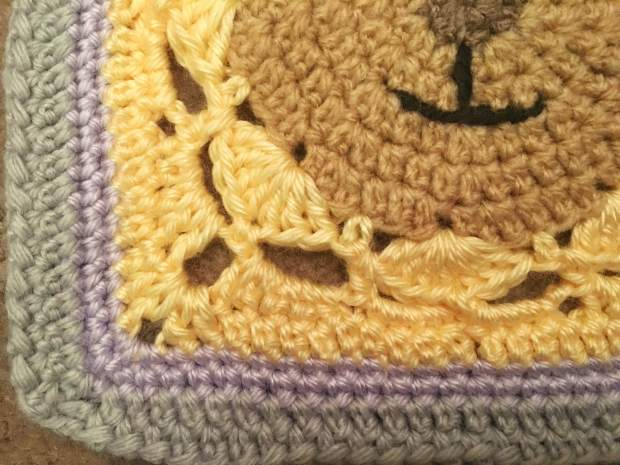 Teddy Blanket Close Up Corner