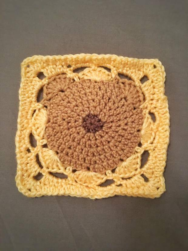 Teddy Blanket First Square